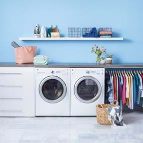 General Electric washer and dryer photography