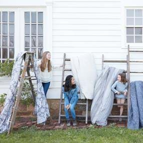 Arhaus Furniture outdoor family lifestyle