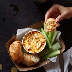 Jukebox buffalo chicken dip