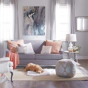 Jo-Ann Fabric living room interior home photography
