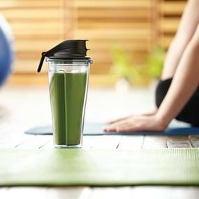 Vitamix yoga and green smoothie