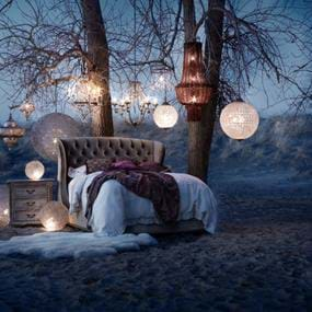 Arhaus Furniture outdoor bedroom photography